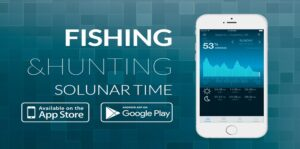 Fishing and Hunting Solunar Time App